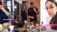 Бето О'Рурк и Александрия Окасио-Кортес готвят пред своите Instagram фенове