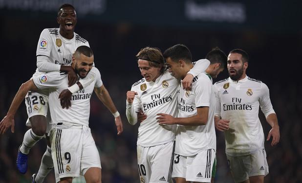 Бетис - Реал Мадрид 1:2