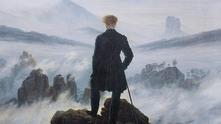 """Каспар Давид Фридрих - """"Странник над море от мъгла"""""""