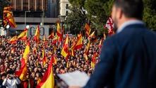 """Демонстрация на испанската партия """"Вокс"""""""
