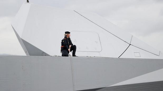 жена в шведската армия