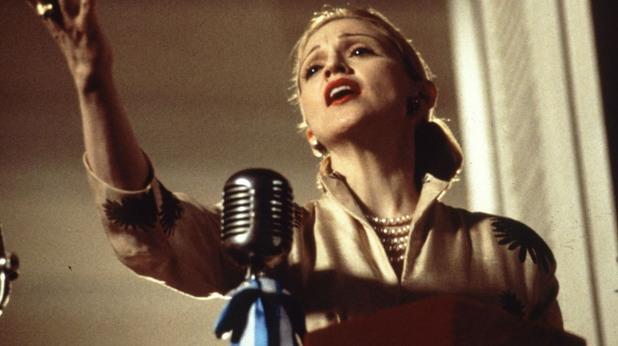 """Мадона в """"Евита"""""""
