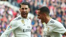 Атлетико Мадрид - Реал Мадрид 1:3