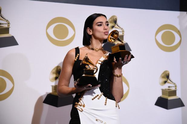 Дуа Липа на Грами 2019