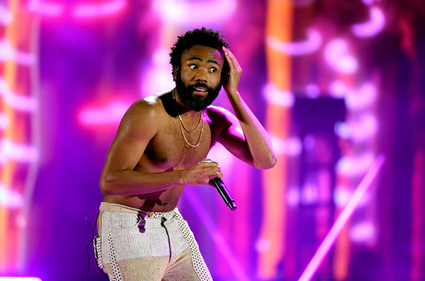 Чайлдиш Гамбино на Грами 2019
