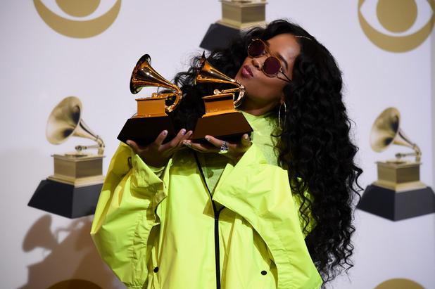 Габриела Уилсън (H.E.R) на Грами 2019