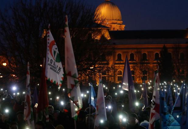 протесите в унгария