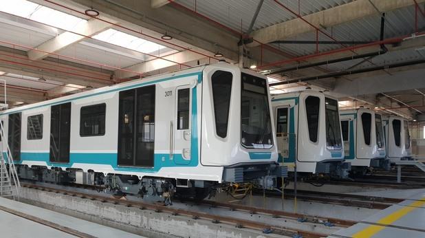 Новите влакове за третата линия на метрото