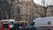 Срутване в сградата на Петербургския университет