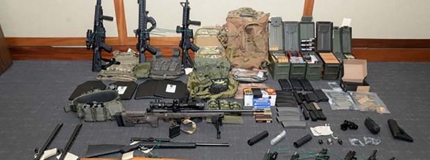 Откритите оръжия в дома на Хасън