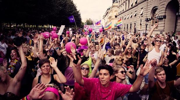 Шествие на Феминистката инициатива на Швеция