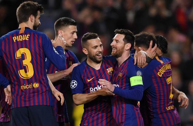 Барселона - Лион 5:1
