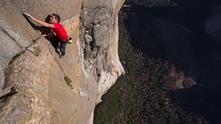 Сам на скалата