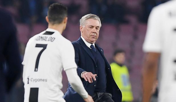 Роналдо и Анчелоти