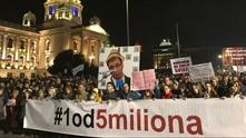 Протест в Сърбия