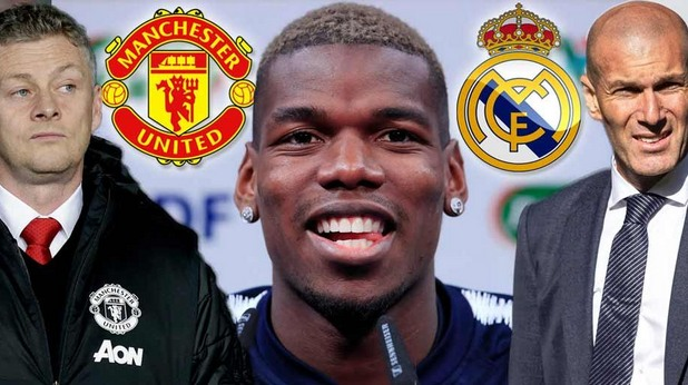 Погба между Юнайтед и Реал