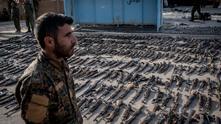 SDF с оръжие на ИДИЛ
