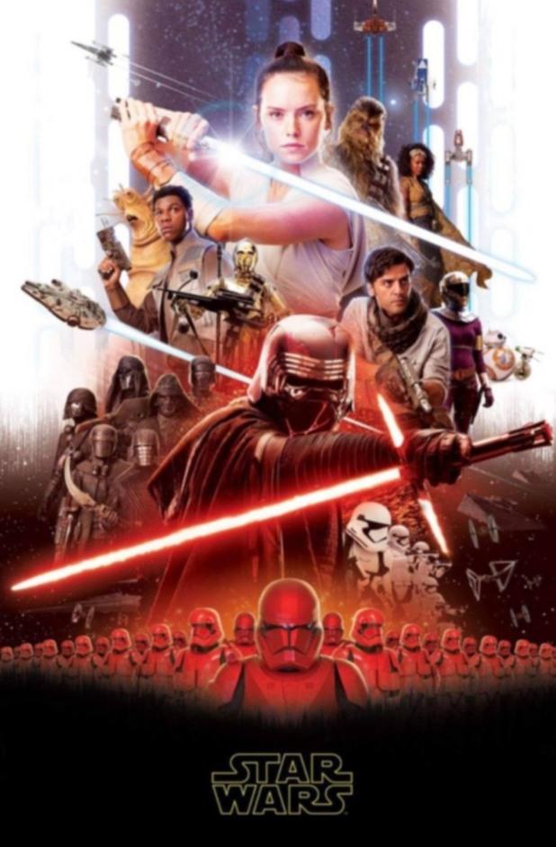 Междузвездни войни: Епизод IX - неофициален плакат