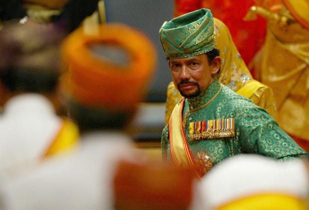 султанът на бруней