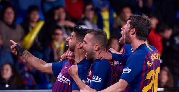 Виляреал - Барселона 4:4