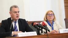Александър Андреев и Таня Цанева от ЦИК