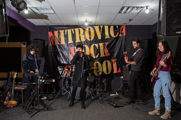 Концерт на Рок училището на Митровица