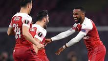 Наполи - Арсенал 0:1