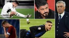 Отпадане на италианските отбори от Европа