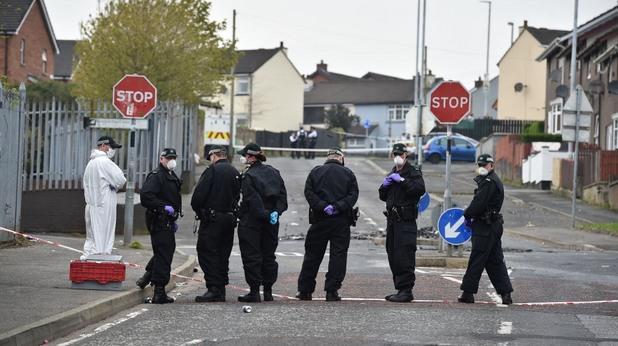 Стрелба в Лондондери