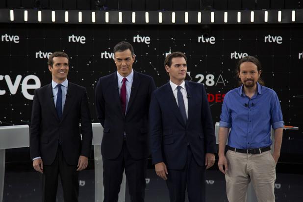 Предизборните дебати в Испания