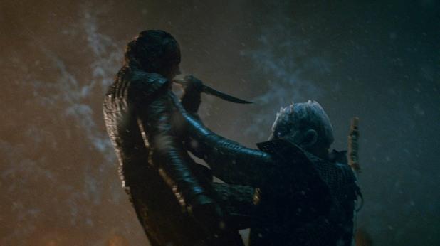 Аря Старк срещу Нощния крал
