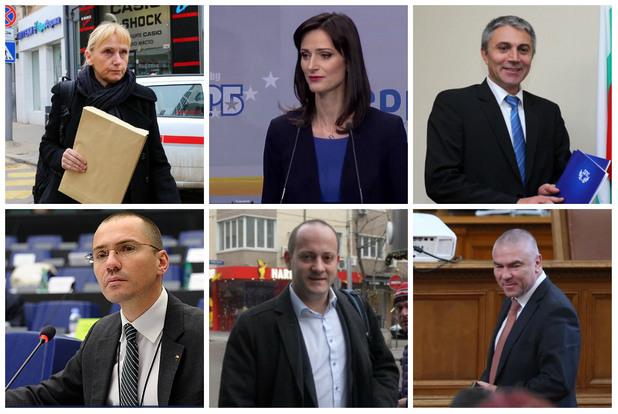 Водачите на листи за евроизборите