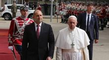 Папа Франциск и президентът Румен Радев