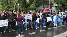 протест на педиатрите