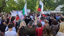 протест срещу стратегията за детето