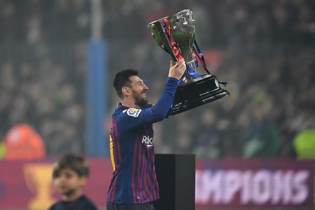 Меси вдига титлата на Испания за сезон 2018/19