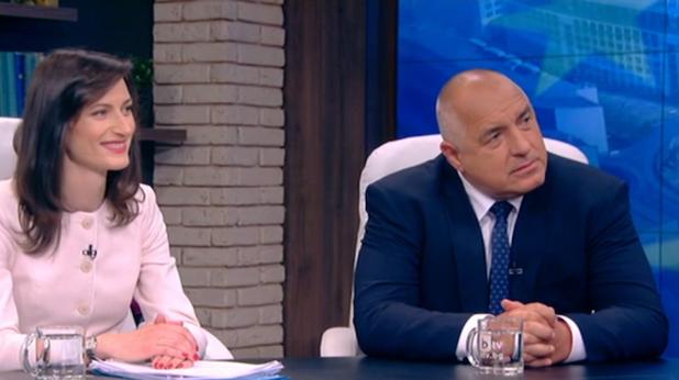 Бойко Борисов и Мария Габриел