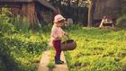 Дете в градина