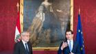 Президентът на Австрия Александър ван дер Белен и канцлерът Себастиан Курц