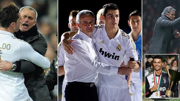 Моуриньо и Роналдо в Реал Мадрид