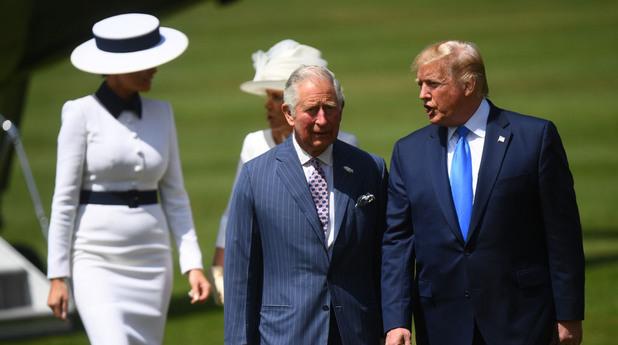 Доналд Тръмп и принц Чарлз