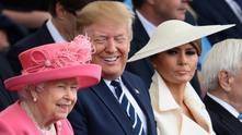 доналд тръмп и кралица елизабет