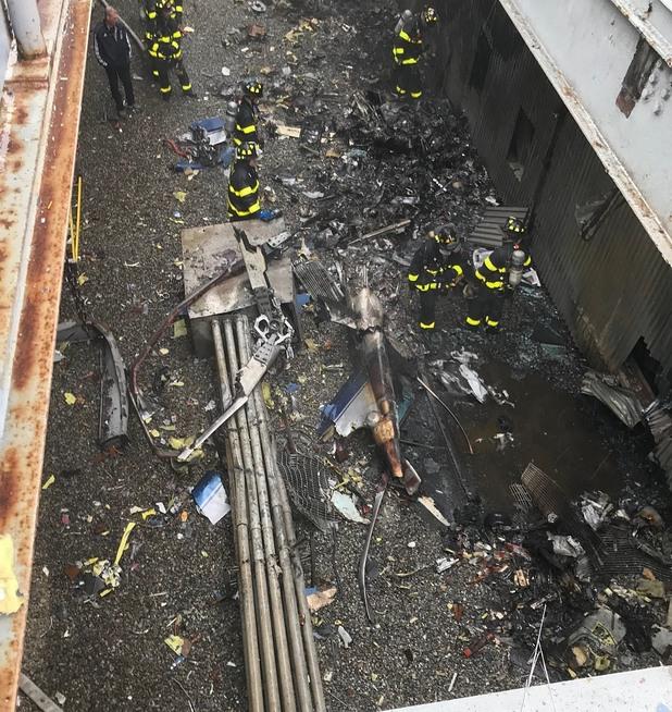 Катастрофа на хеликоптер в Ню Йорк