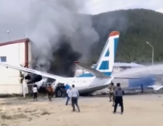 катастрофирал самолет в сибир