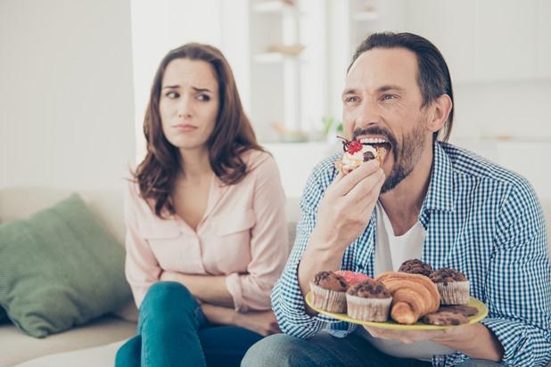 Двойка и храна
